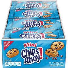 Mini Chip Ahoy'S - 12 Count
