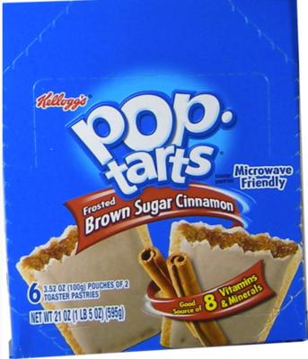 Kellog's Pop Tarts - Brown Sugar 6/2 packs