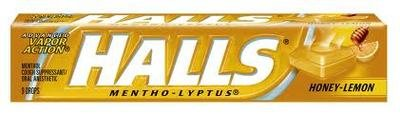 Halls - Honey Lemon 20 count