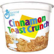 Cereal Cups Cinnamon Toast Crunch 6 pack