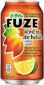 Fuze Lemon Tea - 12 oz - Case of 24