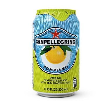 San Pellegrino 24/11.15 oz can Pompelmo (Grapefruit)