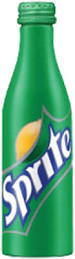 Sprite 8.5 oz. Aluminum Bottles - Case of 24