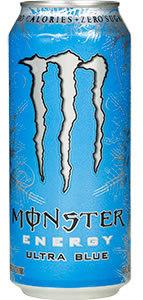 Monster Energy - Ultra Blue 16 oz - Case of 24