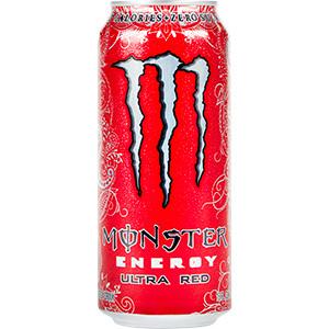 Monster Energy - Ultra Red 16 oz - Case of 24