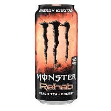 Monster Energy Rehab Peach 16 oz - Case of 24