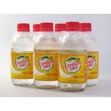 Canada Dry Tonic -  10 oz. Glass Bottles - Case of 24