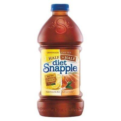Snapple 64 oz - Diet 1/2 & 1/2 - Case of 8