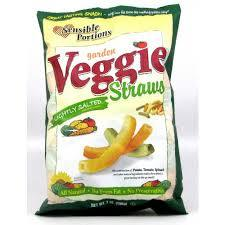 Sensible Portions Veggie Straws Lightly Salted 24/1 oz