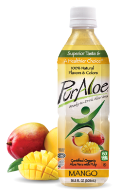 Pur Aloe Water Mango 24/16.9 oz