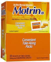 Motrin 50/2 count