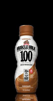 Muscle Milk - 100 Calorie Chocolate - 12/12 oz.