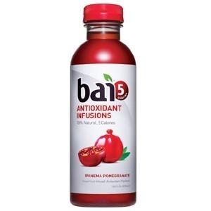 Bai Ipanema Pomegranate 12/18 oz bottles