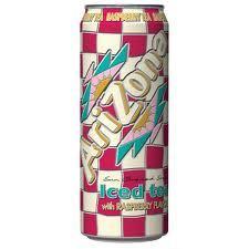 Arizona 23.5 oz Cans Raspberry - Case of 24