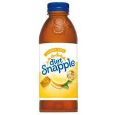 Snapple 32 oz - Diet Lemon Tea - Case of 12