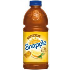 Snapple 32 oz - Lemon Tea - Case of 12