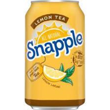 Snapple 11.5 oz (cans) - Lemon - Case of 24