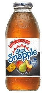 Snapple 16 oz New Plastic Bottle Diet Tropical - Case of 24