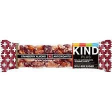 Kind Bars Cranberry Almond 12 count