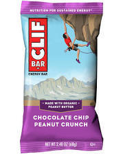 Clif Bar Chocolate Chip Peanut Crunch 12 count