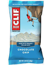 Clif Bar Chocolate Chip 12 count