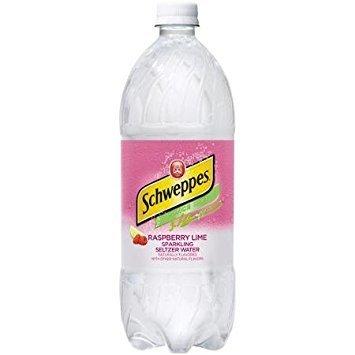 Schweppes Raspberry Lime Seltzer - 20 oz - Case of 24