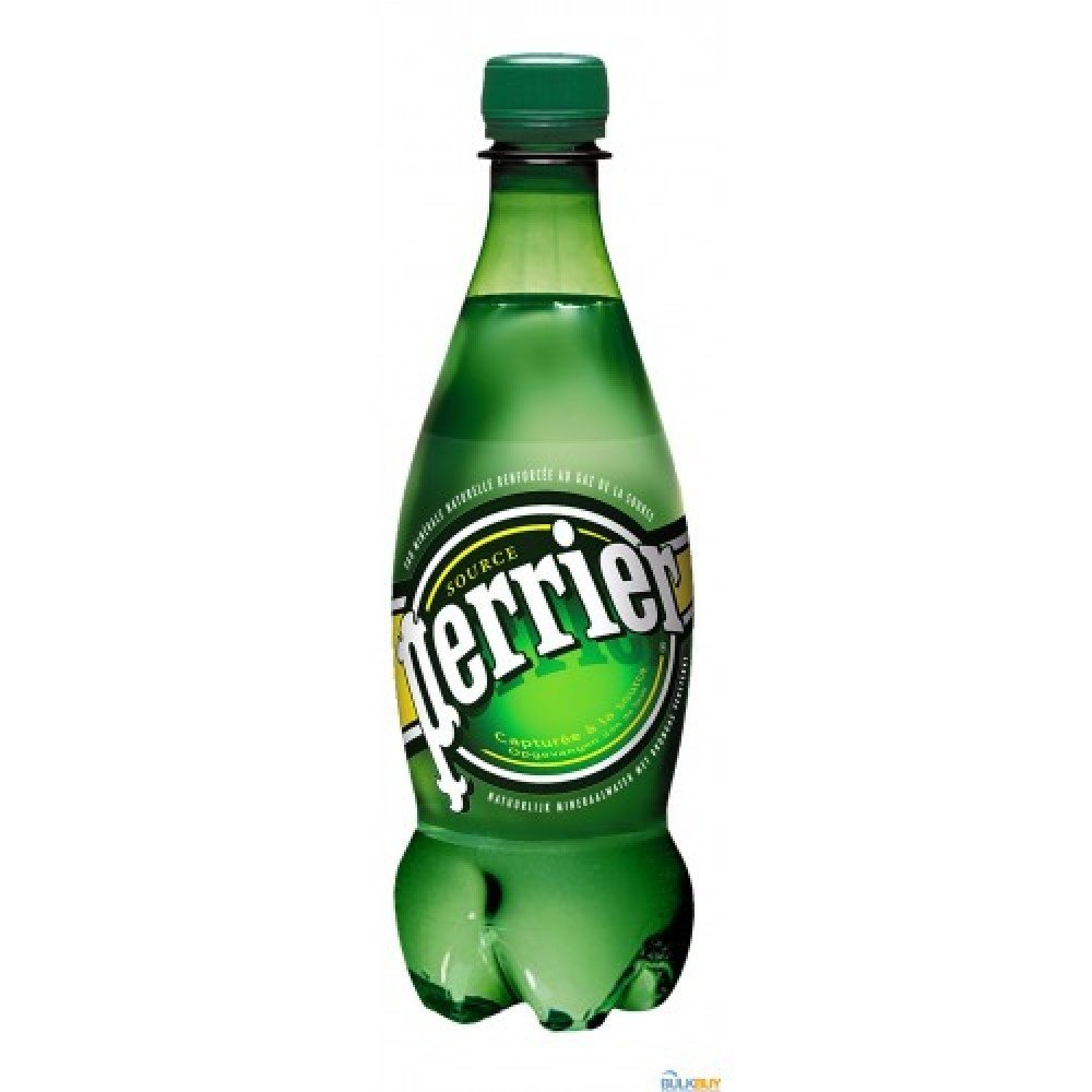 Perrier Sparkling Water 24/500 ML Plastic Bottle