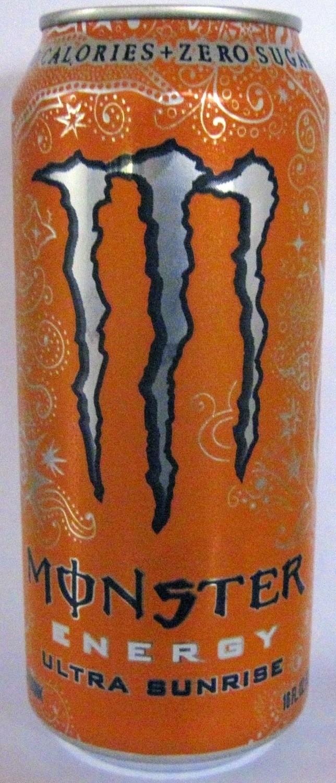 Monster Energy - Ultra Sunrise 16 oz - Case of 24