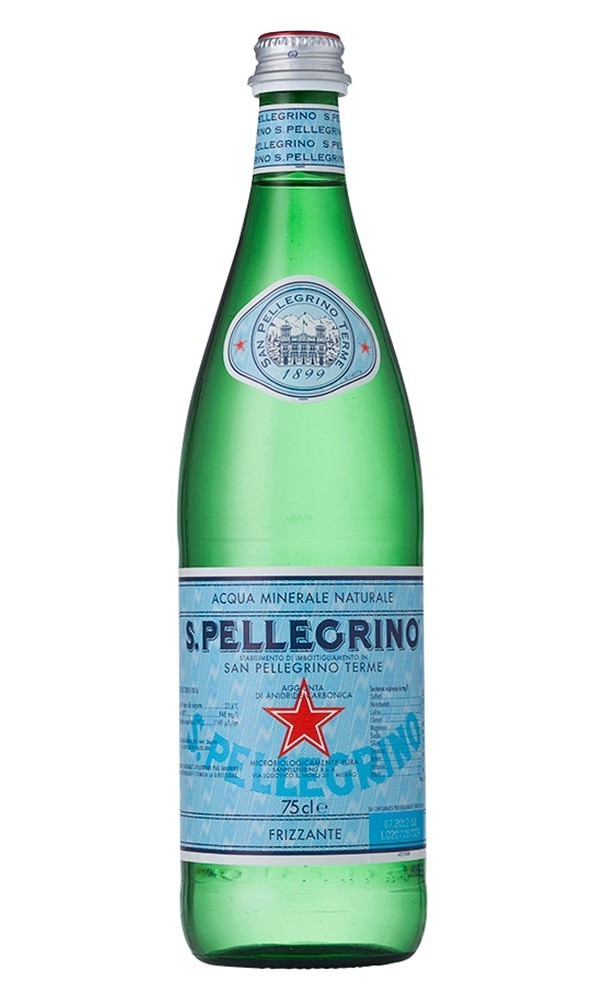 San Pellegrino 15/750 ML Glass Bottle