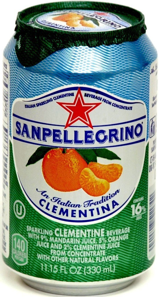 San Pellegrino 24/11.15 oz can Clementina (Clementine)