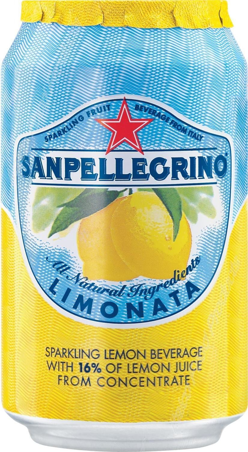 San Pellegrino 24/11.15 oz. can Limonata (Lemon)