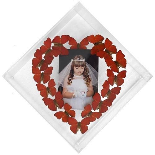 "003 - Custom 10"" x 10"" Diamond Heart Display"