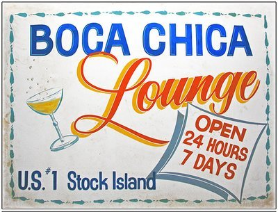 BOCA CHICA LOUNGE * 8'' x 11''