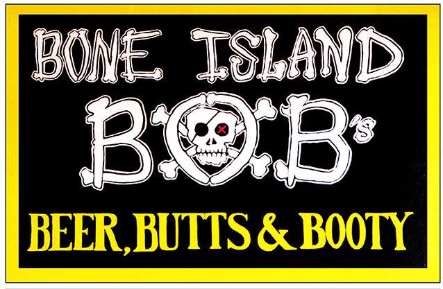 BONE ISLAND BOB'S * 6'' x 11'' 10013