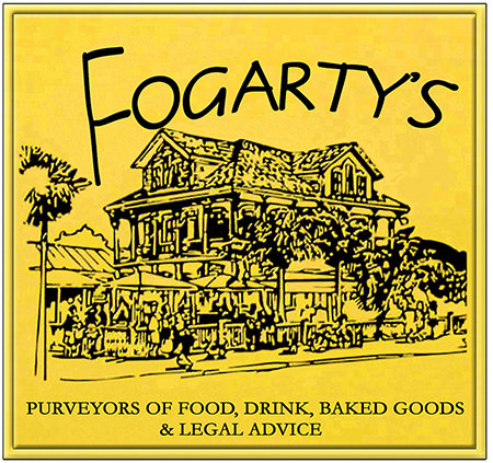 FOGARTY'S FREE LEGAL ADVICE * 8'' x 8''