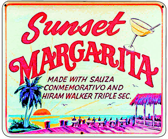 SUNSET MARGARITA * 8'' x 10'' 10084