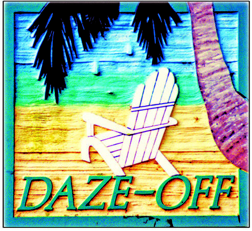 DAZE-OFF * 8'' x 8'' 10123