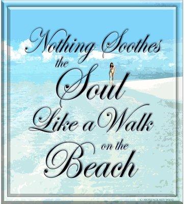 WALK ON THE BEACH * 8'' x 10''
