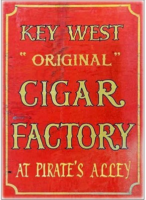 KEY WEST CIGAR FACTORY 2 * 7'' x 11''