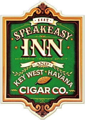 SPEAKEASY INN AND CIGAR CO. * 8'' x 11''
