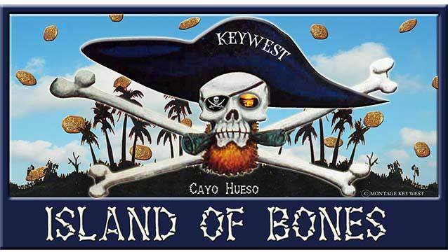ISLAND OF BONES * 6'' x 11''