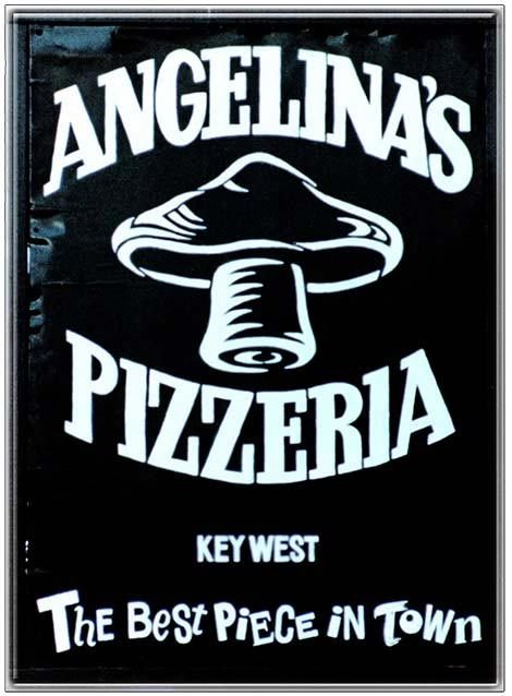 ANGELINA'S PIZZA * 8'' x 11''
