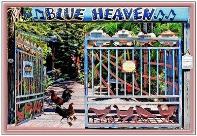 BLUE HEAVEN ENTRANCE * 7'' x 11''