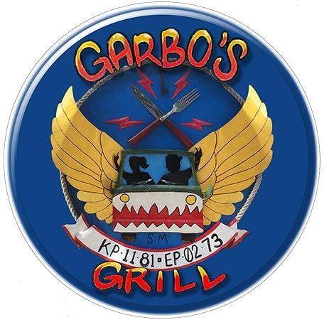 GARBO'S GRILL * 8'' x 8'' 10383
