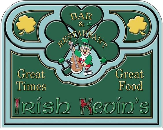 IRISH KEVIN'S GOOD FOOD * 8'' x 11'' 10390