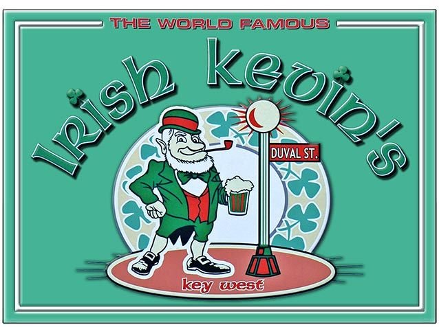 IRISH KEVIN'S WORLD FAMOUS * 8'' x 11''