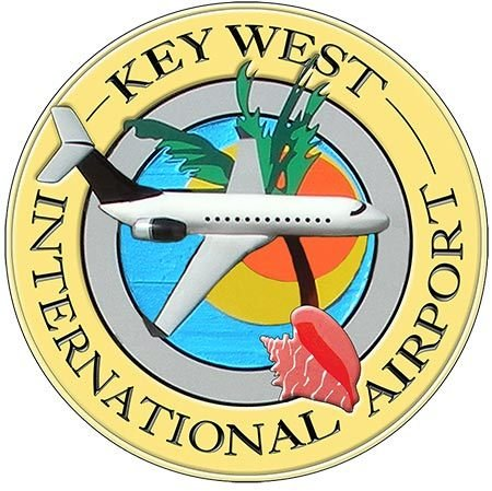 KEY WEST AIRPORT * 8'' x 8'' 10395