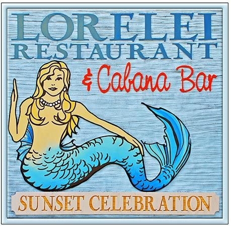 LORELEI CABANA BAR * 8'' x 8'' 10402