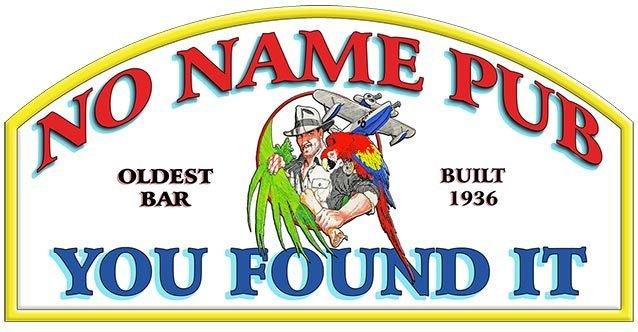 NO NAME PUB * 5'' x 11'' 10405