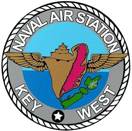NAVAL AIR STATION KEY WEST * 8'' x 8''
